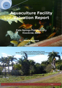 Palm Springs Aquaculture Valuation Report_Page_001